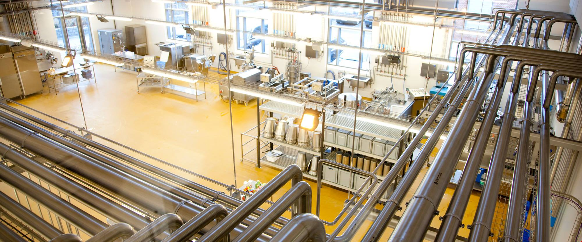 Arla Foods Ingredients runs high-tech application centres in Argentina and Denmark