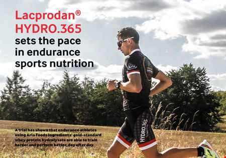Lacprodan®HYDRO.365 sets the pace in endurance sports nutrition whitepaper