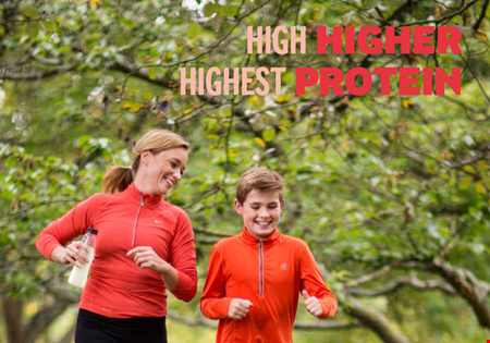High higher Highest protein brochure